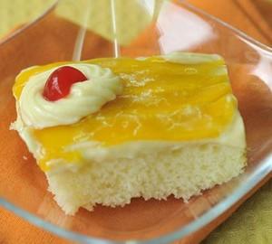 Mango Refrigerator Cake Recipe