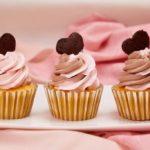 Strawberry Chocolate Hazelnut Cupcakes