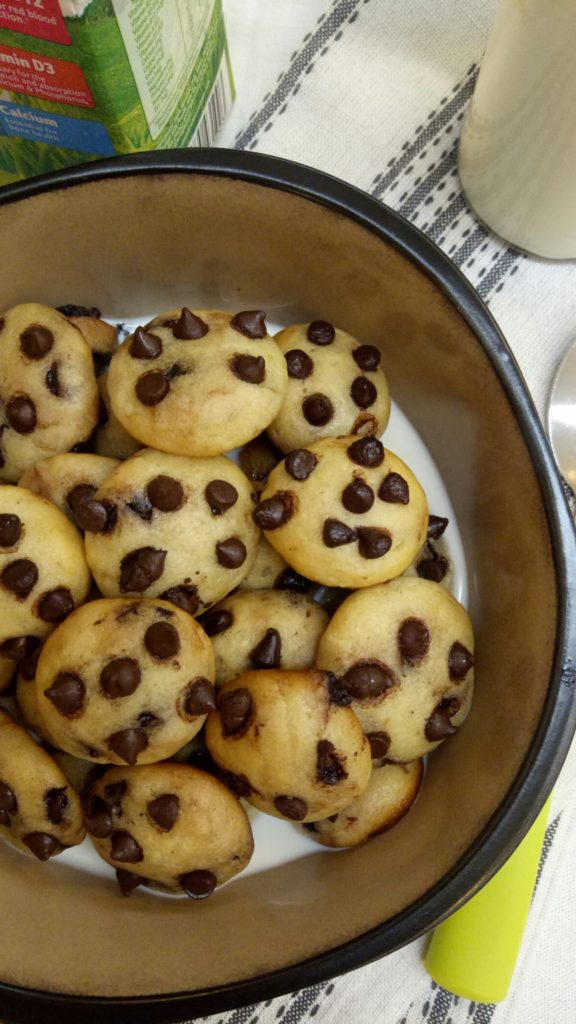 No Oven Chocolate Chip Hotcake Cereal